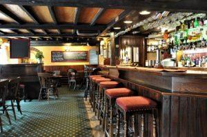 The Talbot Inn pub at Berwick St. John